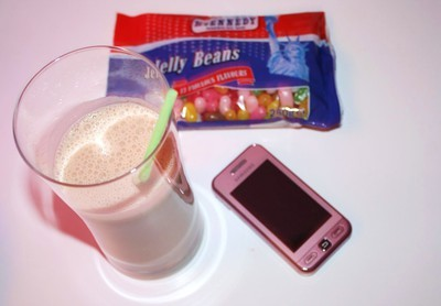 colors, jelly beans, mobilephone, phone, pink mobile