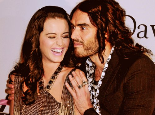 couple, cute, fashion, katy perry, pretty, russell brand