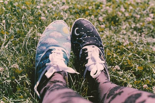 cute, day, fashion, girl, night, para laila, photography, shoes, sky