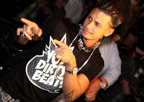 cute, disco, dj pauly d, fashion, jersey shore, miami, the jersey shore, mtv, photography, tattoo