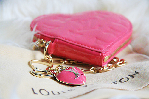 cute, fashion, heart, louis vuitton, pink