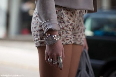 cute, fashion, legs, outfit, rings, shorts
