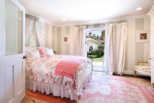 Decor girly interior pink room image 187791 on for Girly bedroom decor