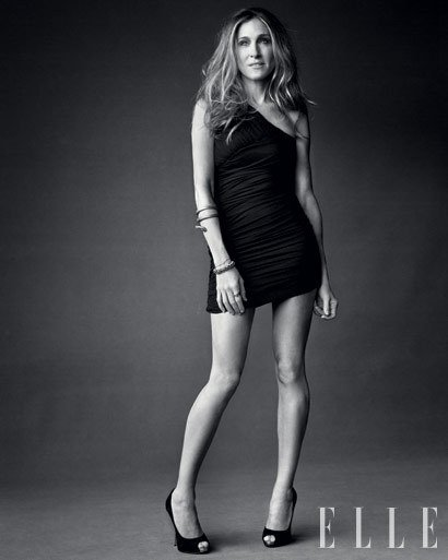 elle, sarah jessica parker, skinny