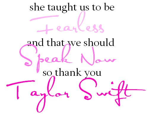 fearless, speak now, taylor swift, thank you