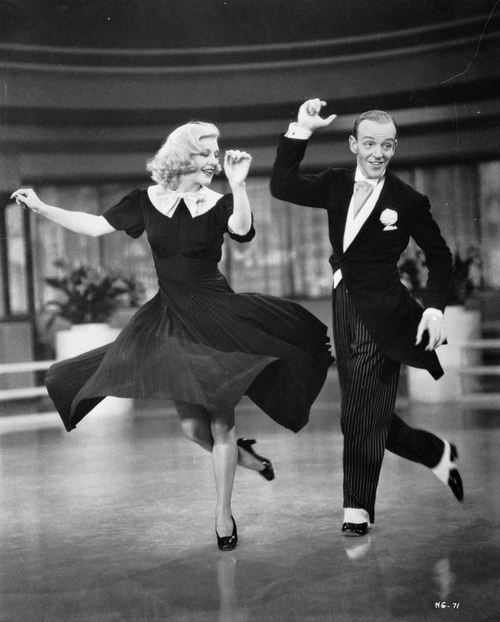 fred astair, ginger rogers, old hollywood, sapateado