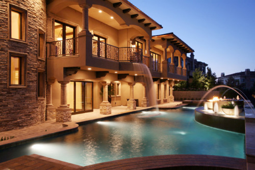 house, pool, sick