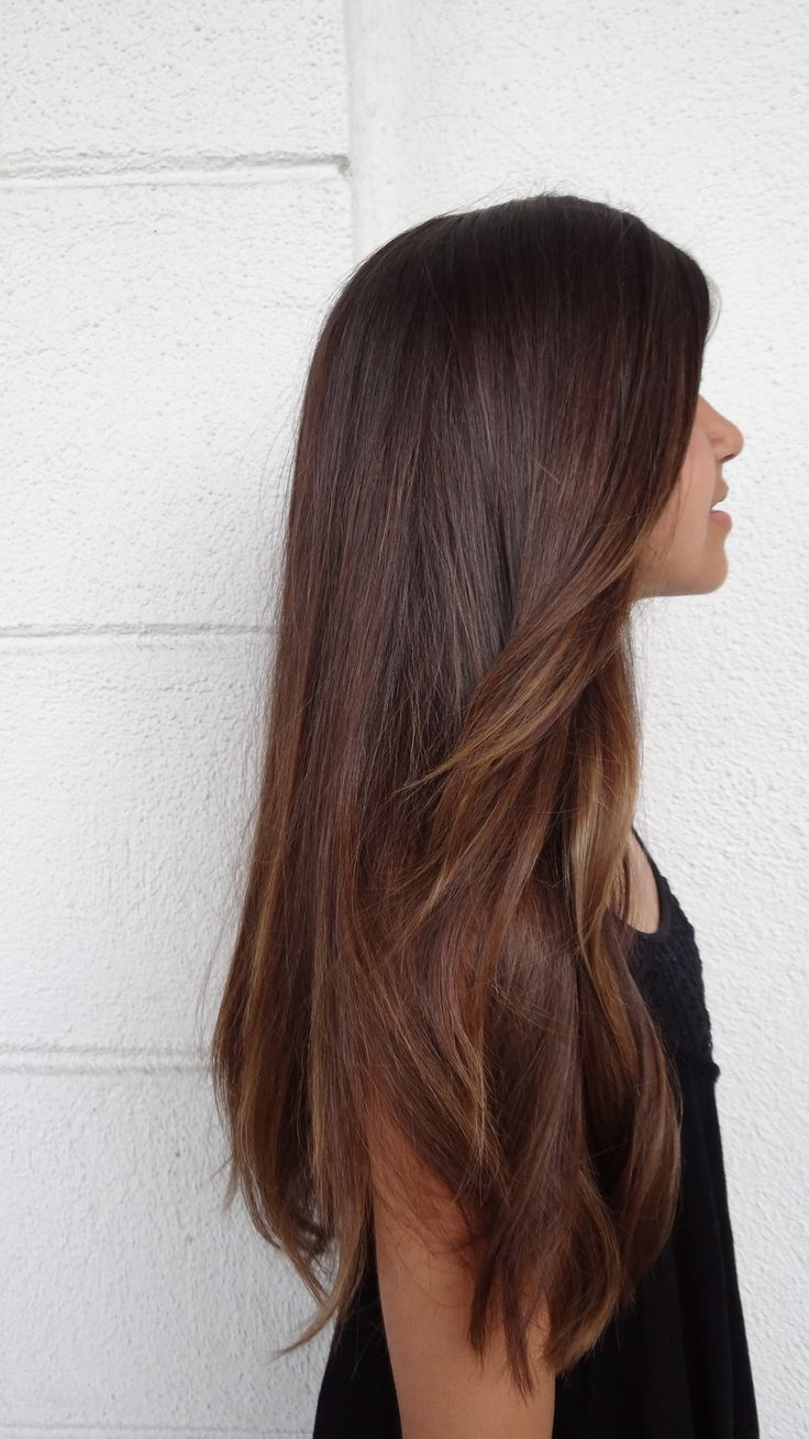 hairstyle, pretty, straight and tip-dye - image #12 on Favim.com