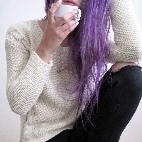 Girls With Light Purple Hair Tumblr alternative, co...