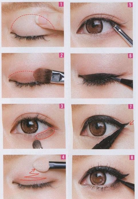 cat eyes, eye makeup, makeup tips, makeup tutorial, asian eyes