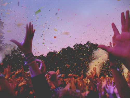 boys, cool, fun, funny, girls, guys, hands, in the air, party, people, photo, picture, tumblr
