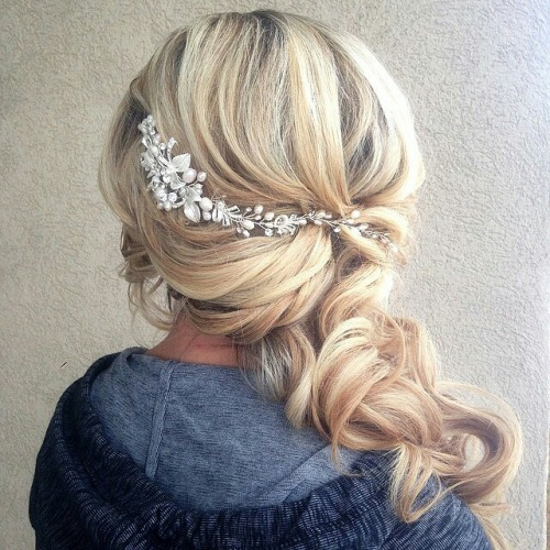 Wedding Side Ponytail Hairstyles: Image #2495561 By Miss_dior On Favim.com
