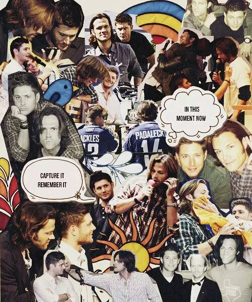 Supernatural collage , sobrenatural colagens - image #2530901 by LADY ...