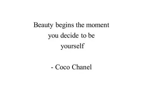 Coco Chanel Quotes We Heart It. QuotesGram