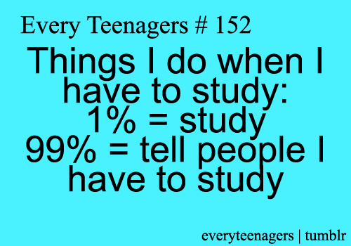 funny, quotes, reality, school, study, time - image #2576081 ...