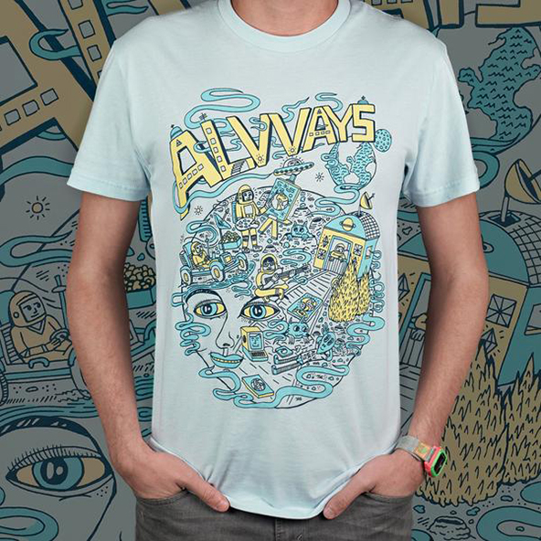 band, sxsw, t-shirt, alvvays