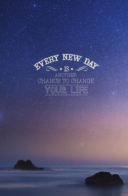 Full Of Stars Quote Sky Wallpaper Your Life To Change