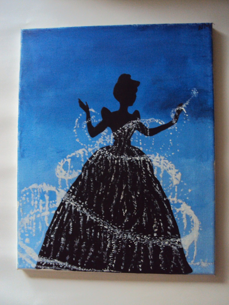 art, cinderella, disney and magic