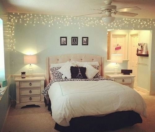 beautiful bed bedroom chanel cute decor design dream girl