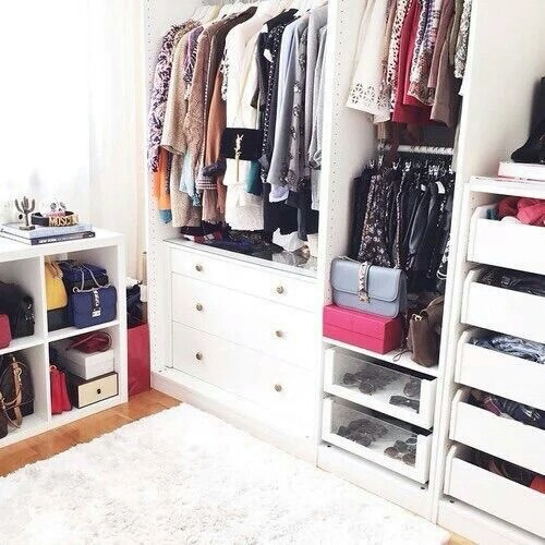 Love this closet image 2616180 by patrisha on for Wardrobe interior designs for girls