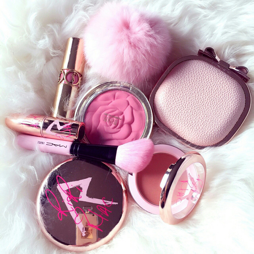 blush, collection, haul and lipstick