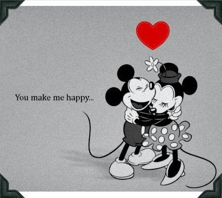 disney, mickey mouse and minnie mouse