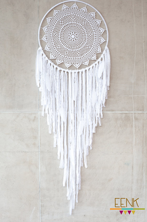 Reserve listing for wshadwick by eenk on etsy image for How to make a double ring dreamcatcher
