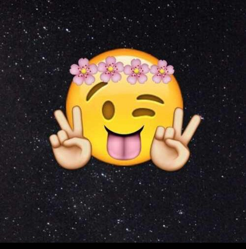 background, emoji, flower, flowers, lol, peace, whatsapp ...