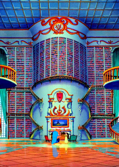 Disney beauty and the beast library