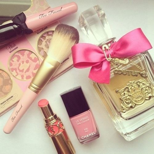 animal print, beauty, bow, brands, brushes, chanel, cosmetics, couture, cute, face, girl, glam, glamurous, gold, golden, hot, lipstick, luxury, make up, makeup, perfect, perfum, pink, set, woman, ysl, yves saint laurent