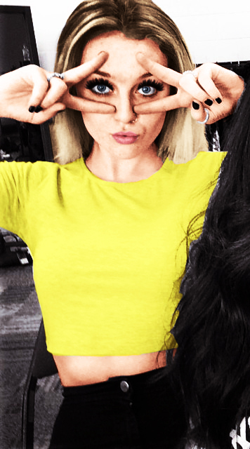 beautiful, cute, little mix, music, peace, perrie edwards, yellow