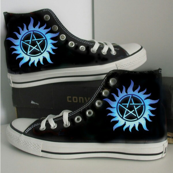 Supernatural Converse Shoes