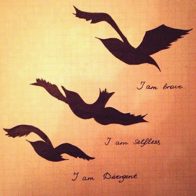 Divergent image 2704770 by lady d on for Divergent tattoo tris