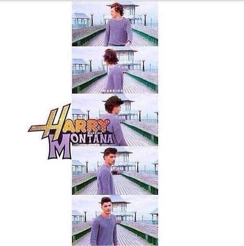 awesome, funny, hannah montana and harry styles