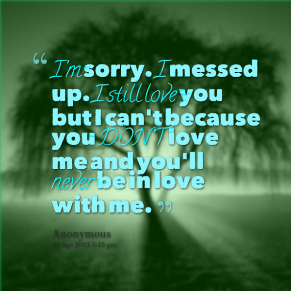30 Meaningful Im Sorry Quotes