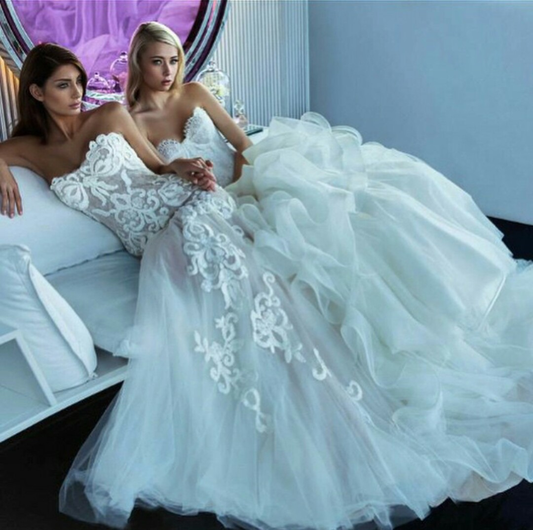 beautiful, bridal, bridal gown and bride