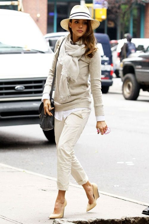 bag, car, fashion, girl, hat, jessica alba
