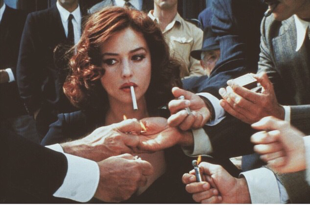 adore, cigarette, goals, lighter, men, monica bellucci, powerful