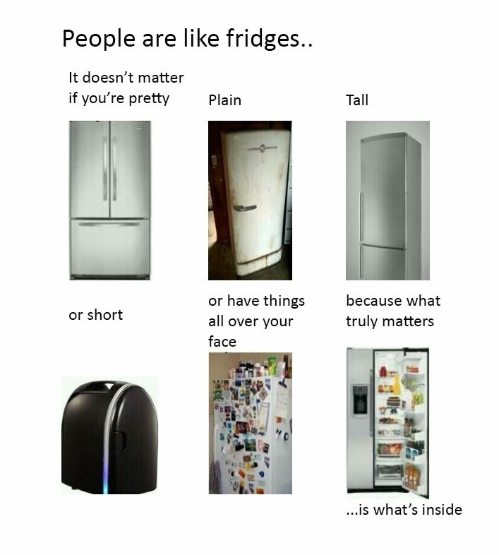 crazy, food, fridges, fun, funny, funny images, inside, matter, people are