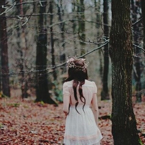 alone, autumn, brown hair and brunette