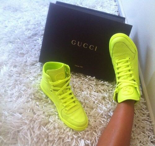gucci colored sneakers