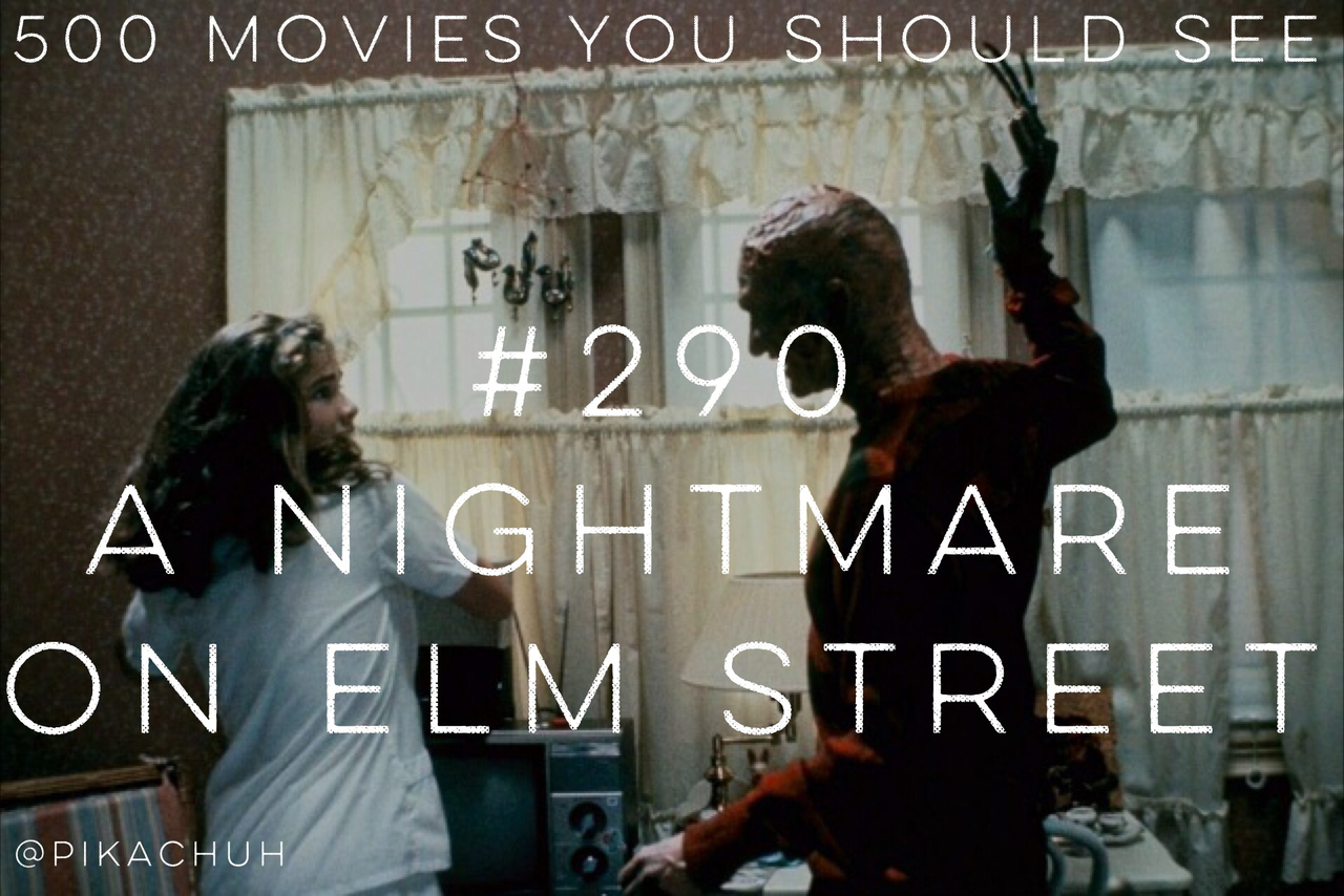 a nightmare on elm street, horror, johnny depp and movie