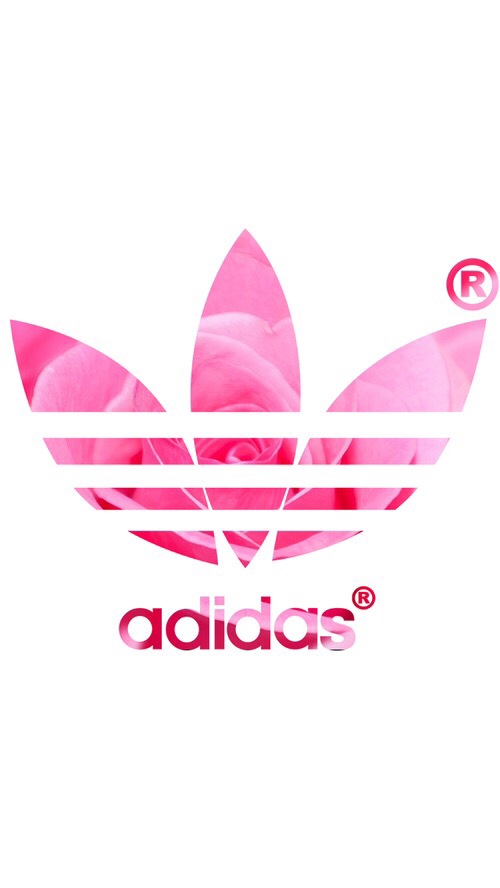 official photos 6b3cc daa27 adidas, background, header, pink, pink rose, rose, wallpaper, iphone