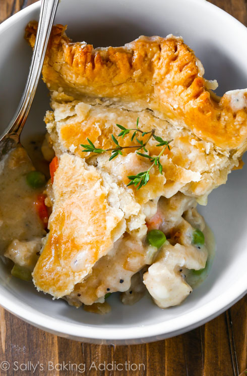 Double crust chicken pot pie - Nom-Food | - image #2964441 by olga_b ...