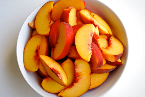 food, fruit, healthy, peaches