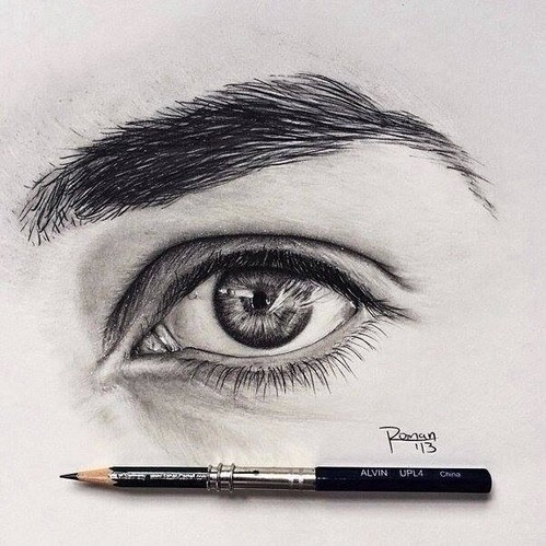 Eye see you image 2991400 by bobbym on for Drawing eyebrows on paper