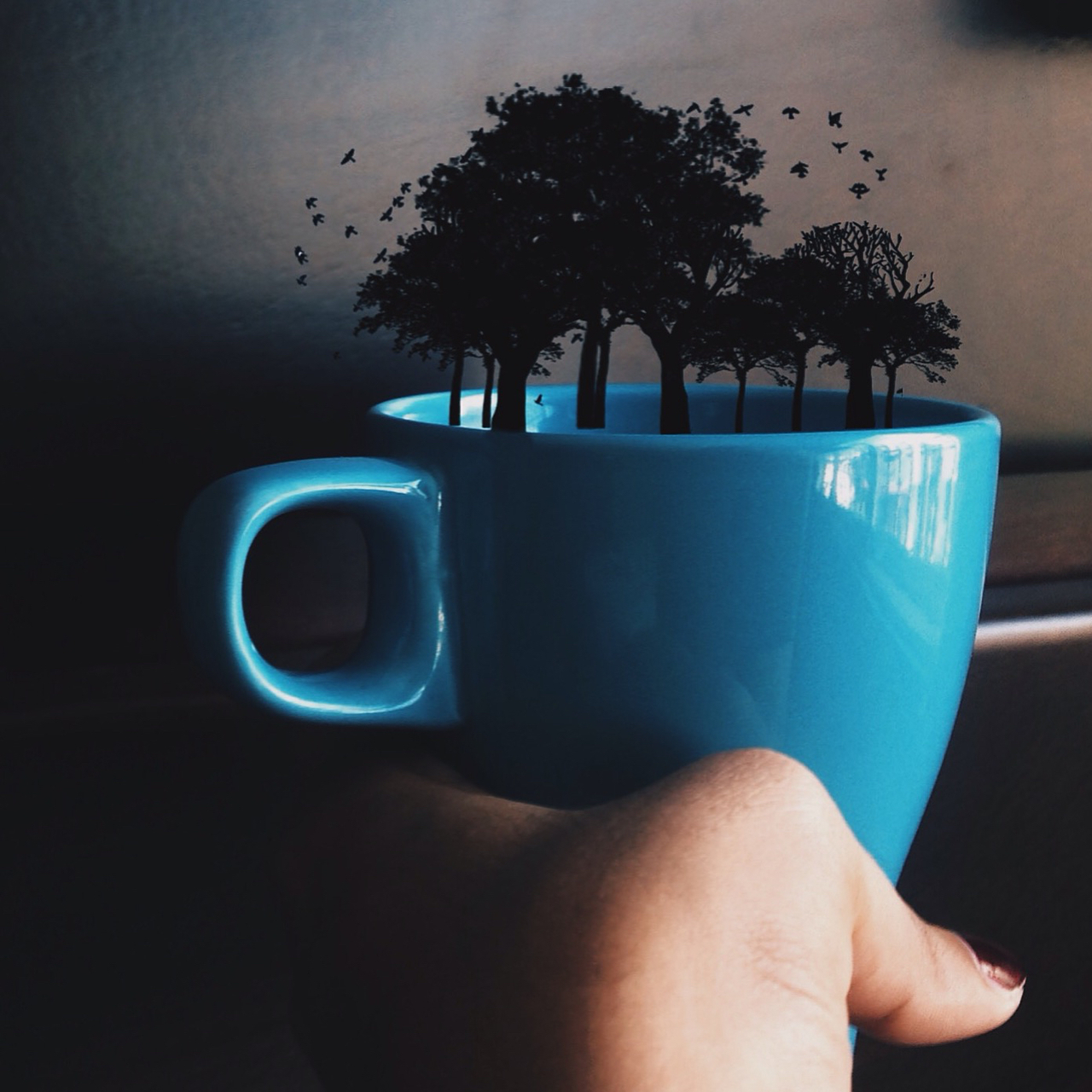 art, artsy, blue, coffee, dark, edit, edits, surreal, templates, tumblr, tumblredit