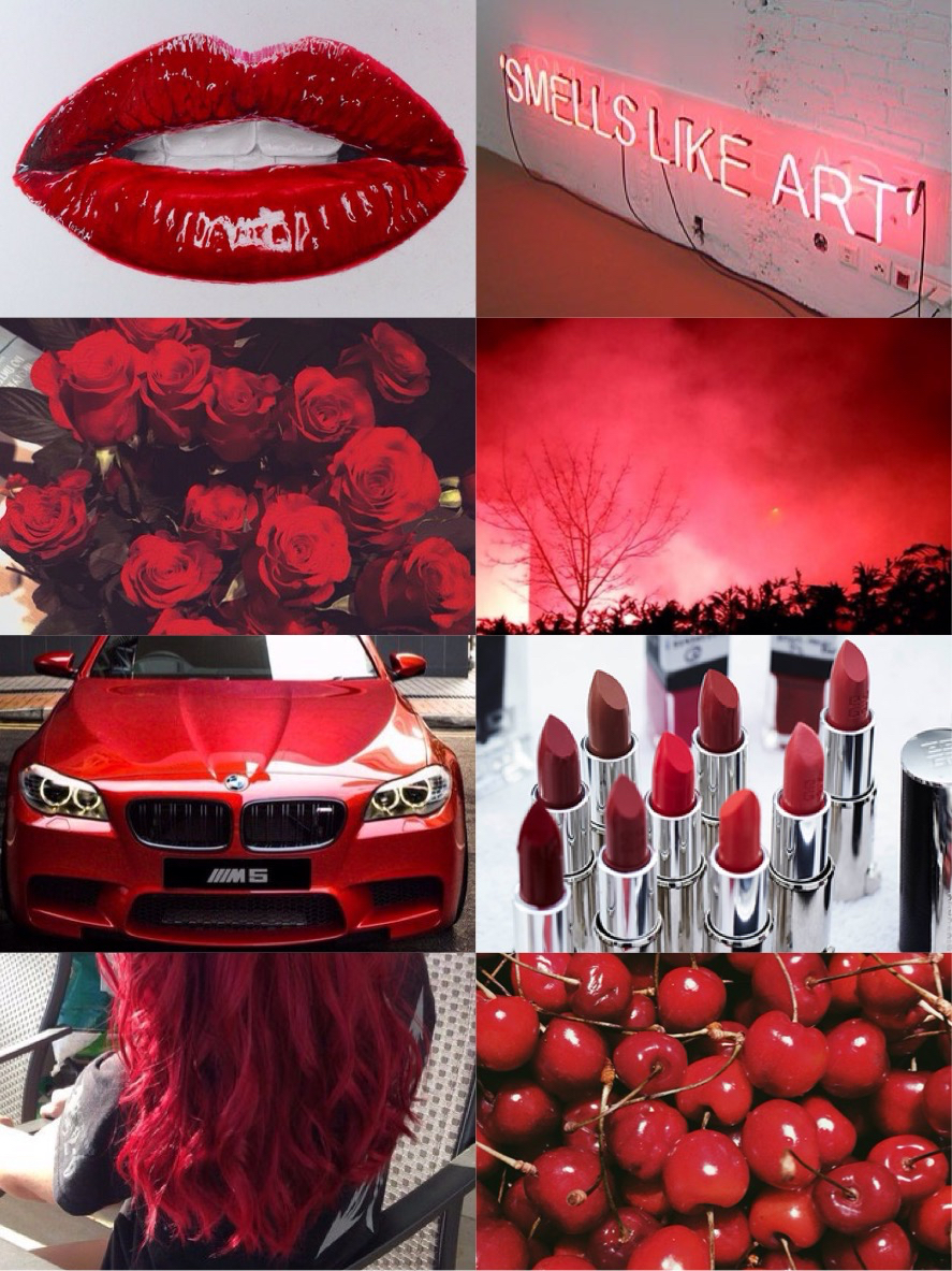 car, cherry, color and fire