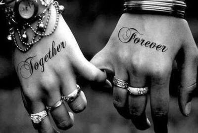 Best friends endless love forever friendship jewellery for Together forever tattoos