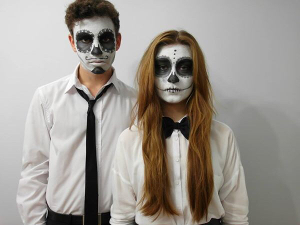 halloween makeup for couples
